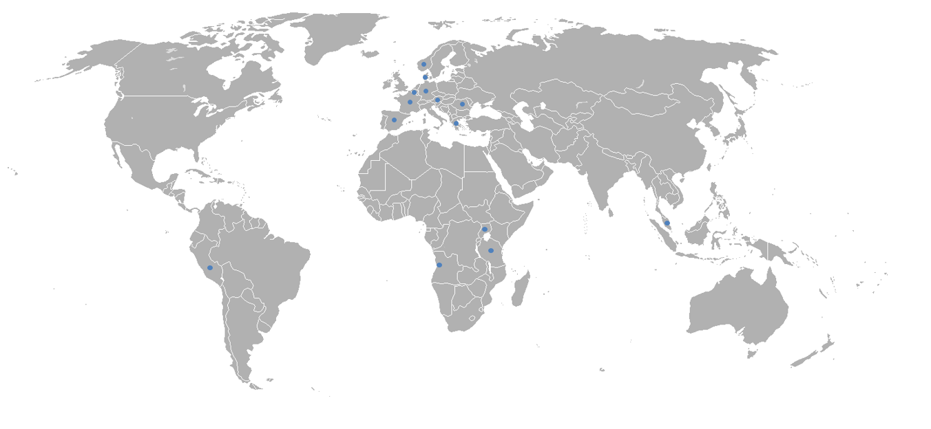 Map of Successfull Projects